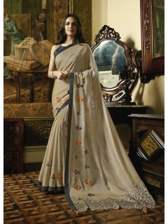 Chiku Fancy Saree