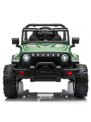 LEADZM LZ-9956 Dual Drive 12V 7A.h with 2.4G Remote Control Electric Car Green