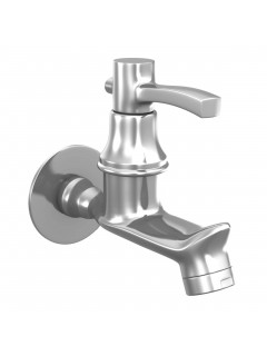 Sheetal - Antique Bib Cock Faucet With Wall Flange