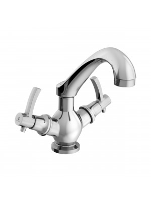 Sheetal - Antique Centre Hole Basin Mixer Without Pop-up West System