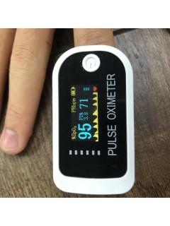 Household Finger Pulse Detector with Oximeter