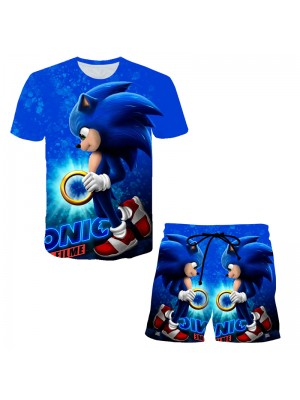 Sonic Collection Top Shorts 2pcs Sets