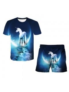 Unicorn Collection Top Shorts 2pcs Sets
